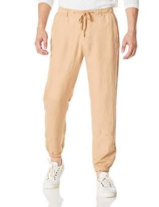 Isle Bay Linens Men's Linen Rayon Blend Jogger Pants