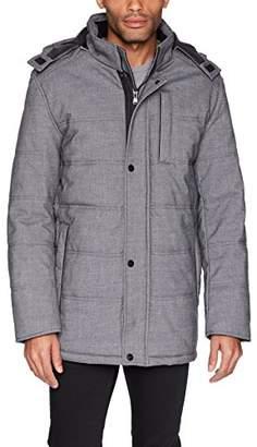 Perry Ellis Men's Stretch Polyester Oxford Jacket