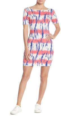 Loveappella Fitted Cross Back Dress