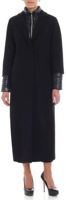 Herno Long Wool And Nylon Coat
