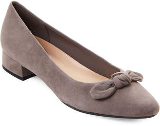 Easy Spirit Grey Calasee Low Heel Shoes