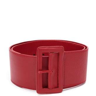 Tufi Duek leather buckle belt