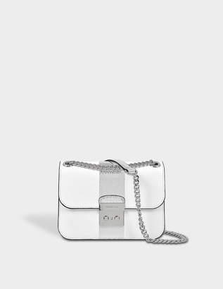 MICHAEL Michael Kors Center Stripe Sloan Editor medium shoulder bag
