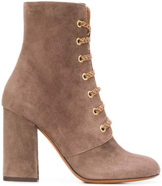 Etro lace up ankle boots