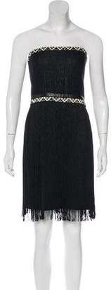 Tamara Mellon Mini Fringe Dress