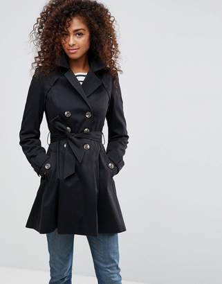 ASOS Skater Trench $83 thestylecure.com