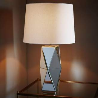 west elm Mirrored Table Lamp