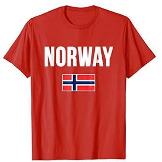 Norway T-shirt Norwegian Flag