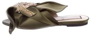 No.21 No. 21 Satin Embellished Sandals
