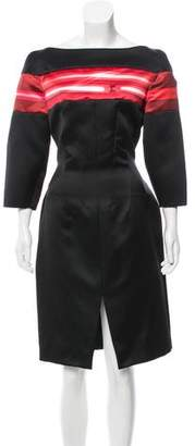 Thakoon Striped Knee-Length Dress