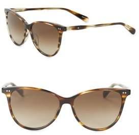 Bobbi Brown 55mm Rectangle Sunglasses