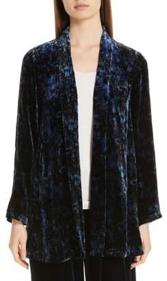 Eileen Fisher Shawl Collar Velvet Jacket