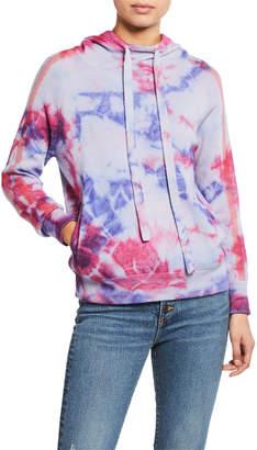 Zoe Jordan Banks Tie-Dye Pullover Hoodie