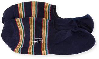 Paul Smith Striped No-Show Loafer Socks