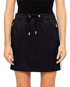 Kenzo Sport Double Face Jersey Mini Skirt