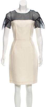 Giambattista Valli Knee-Length Wool-Blend Dress w/ Tags