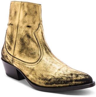 Amiri Western Metallic Boot