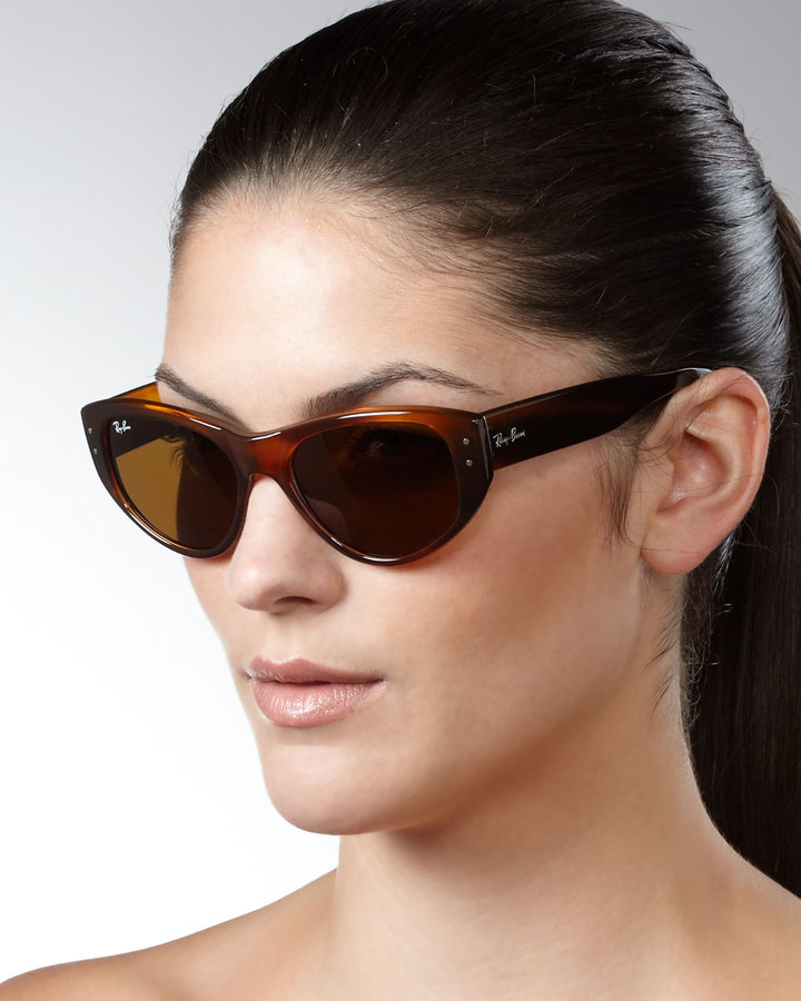 Ray-Ban Cat-Eye Sunglasses, Havana