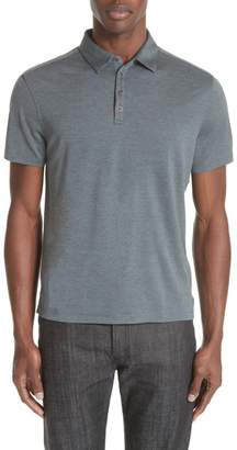 John Varvatos Collection Hampton Silk Blend Jersey Polo