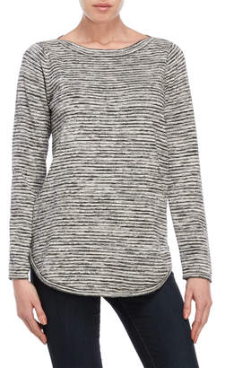 Eight Eight Eight Space-Dye Boatneck Sweater