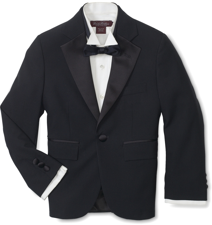 Brooks Brothers Junior Tuxedo Jacket