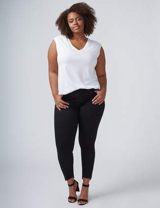 Super Stretch Skinny Jean with Vented Step Hem