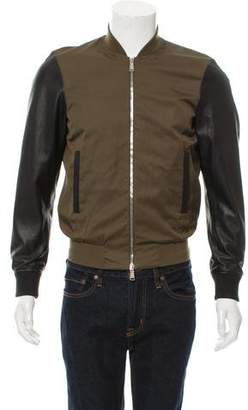 DSQUARED2 Lightweight Zip-Up Bomber Jacket