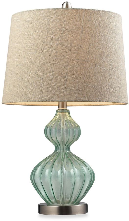 Bed Bath & Beyond Table Lamp in Pale Green