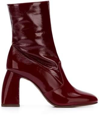 L'Autre Chose block heel boots