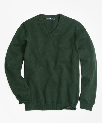 Brooks Brothers Boys V-Neck Sweater