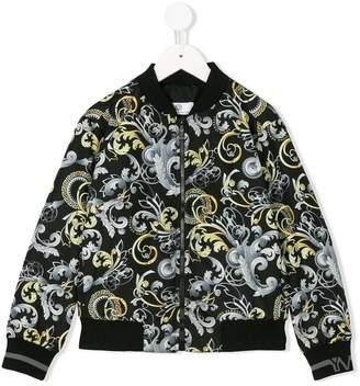 Versace printed bomber jacket
