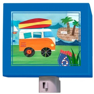 Oopsy Daisy Fine Art For Kids On the Road - Beach Night Light