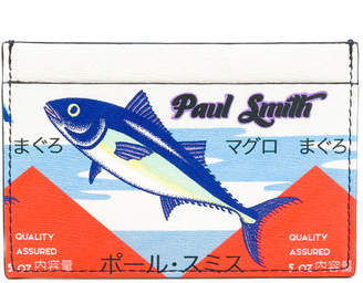 Paul Smith Tuna print card holder