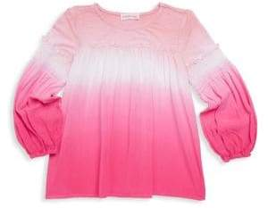Design History Little Girl's Ombre Top