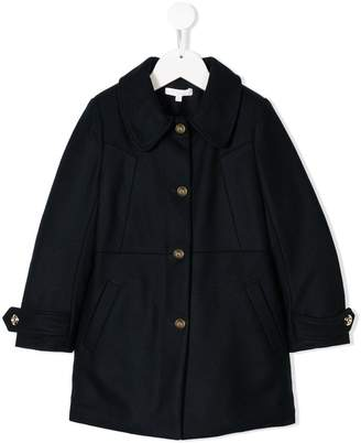 Chloé Kids single breasted coat
