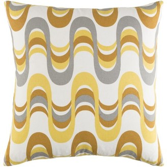 """Artistic Weavers Trudy Wave 18"""" x 18"""" Pillow Cover"""