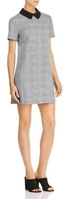 Aqua Collared Glen Plaid Dress - 100% Exclusive