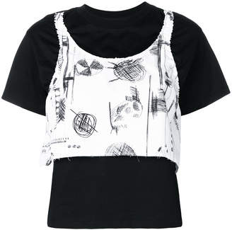 Carven layered T-shirt