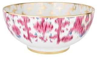 Hermes Voyage En Ikat Large Salad Bowl w/ Tags