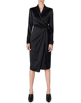 Carla Zampatti Smooth As Silk Wrap Dress