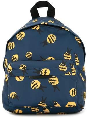 Stella McCartney bee print backpack