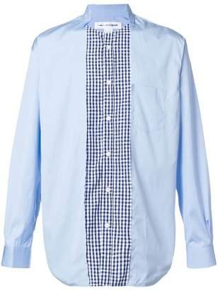 Comme des Garcons asymmetric collar panelled shirt