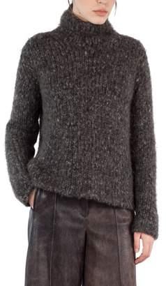 Akris Melange Wool & Cashmere Sweater