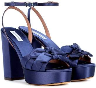 Tabitha Simmons Jodie satin sandals