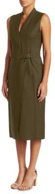 Akris Sleeveless Coat Dress