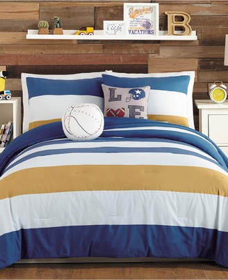 Urban Playground Tj Reversible 5-Pc. Full/Queen Comforter Set Bedding