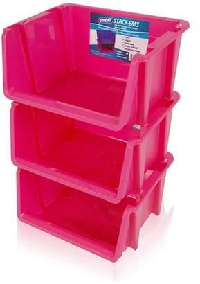 Rebrilliant Stack 'Ems- Stackable Storage Bin