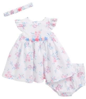 Little Me Whimsical Dress & Headband Set