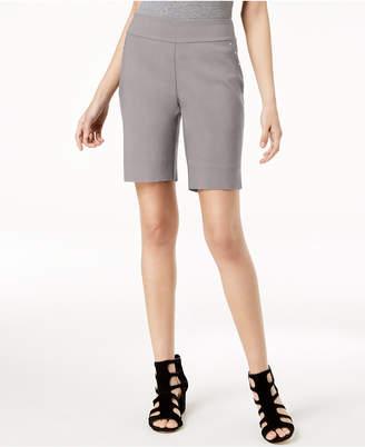 INC International Concepts I.n.c. Curvy-Fit Stud-Trim Bermuda Shorts, Created for Macy's