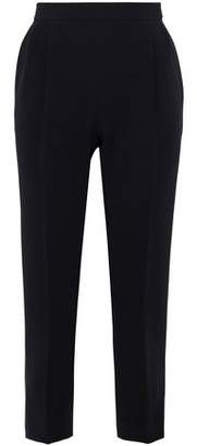Max Mara Cropped Crepe Tapered Pants
